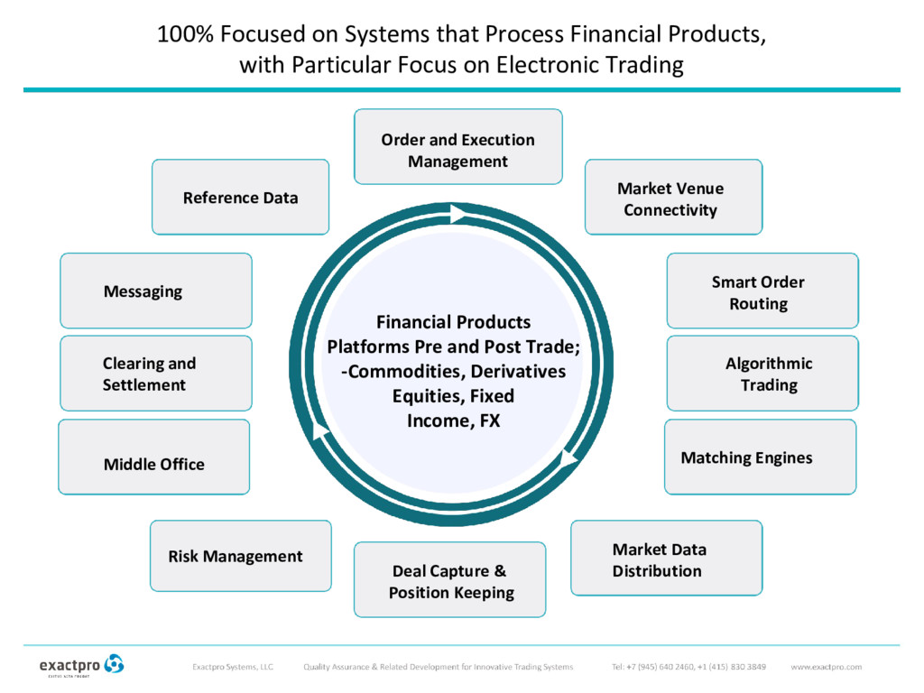100% Focused on Systems that Process Financial ...
