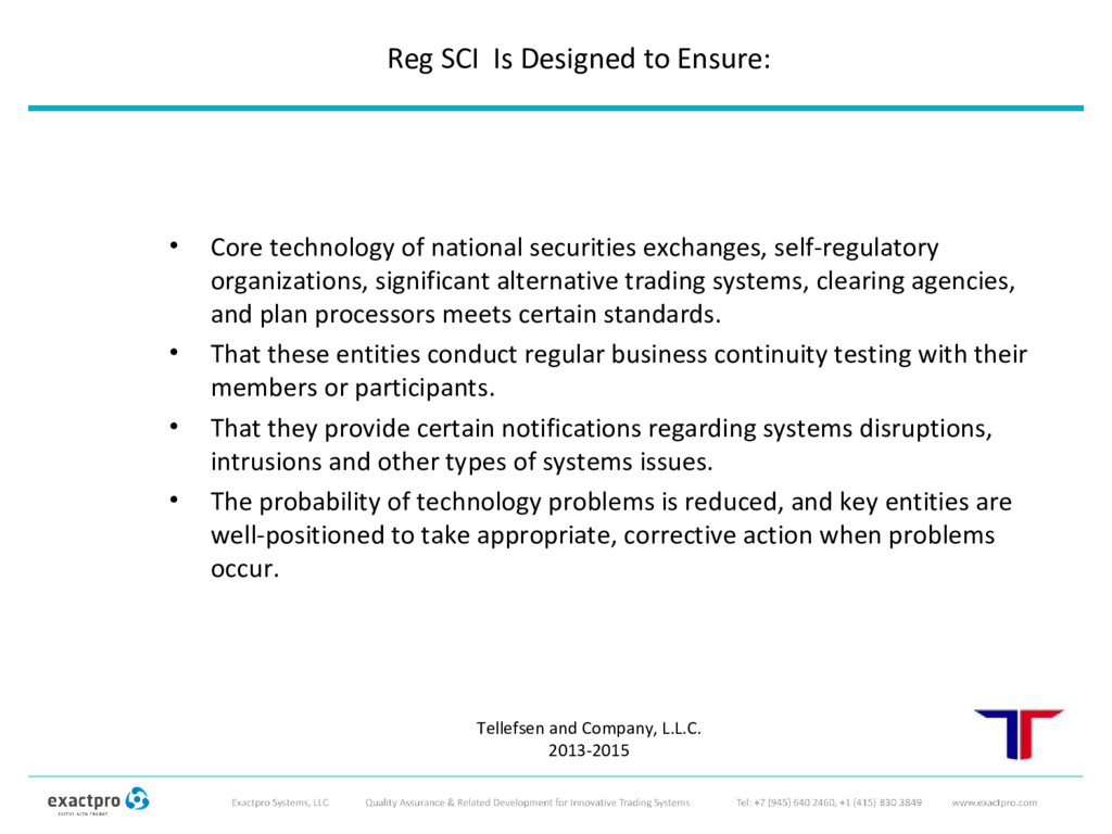• Core technology of national securities exchan...
