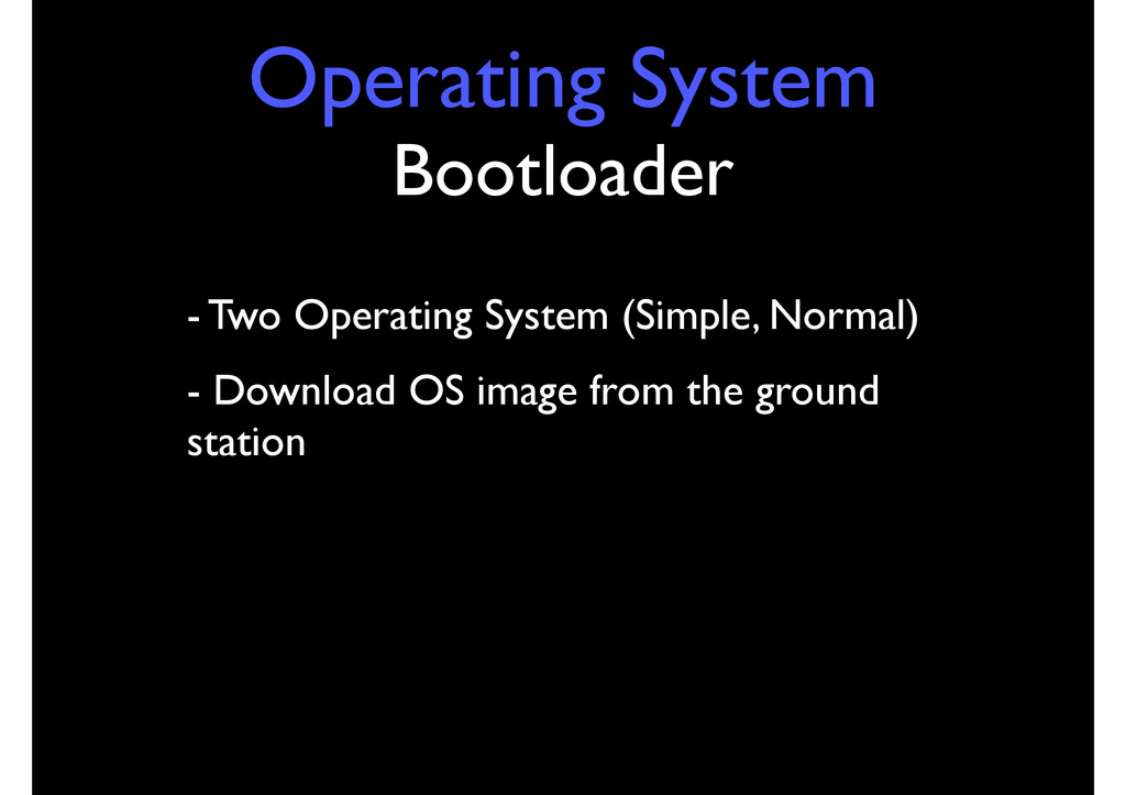 Operating System Bootloader - Two Operating Sys...