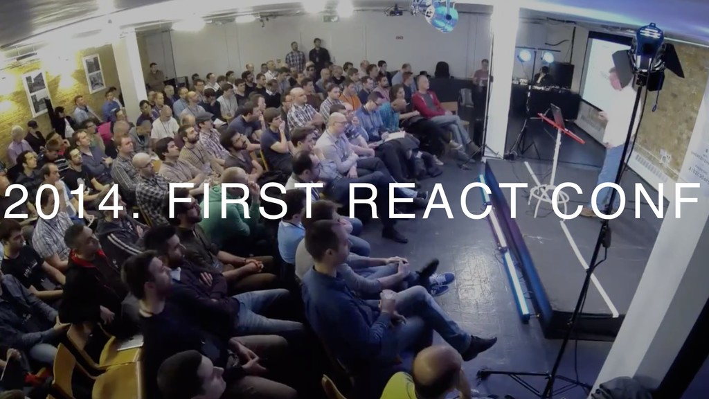2014. FIRST REACT CONF