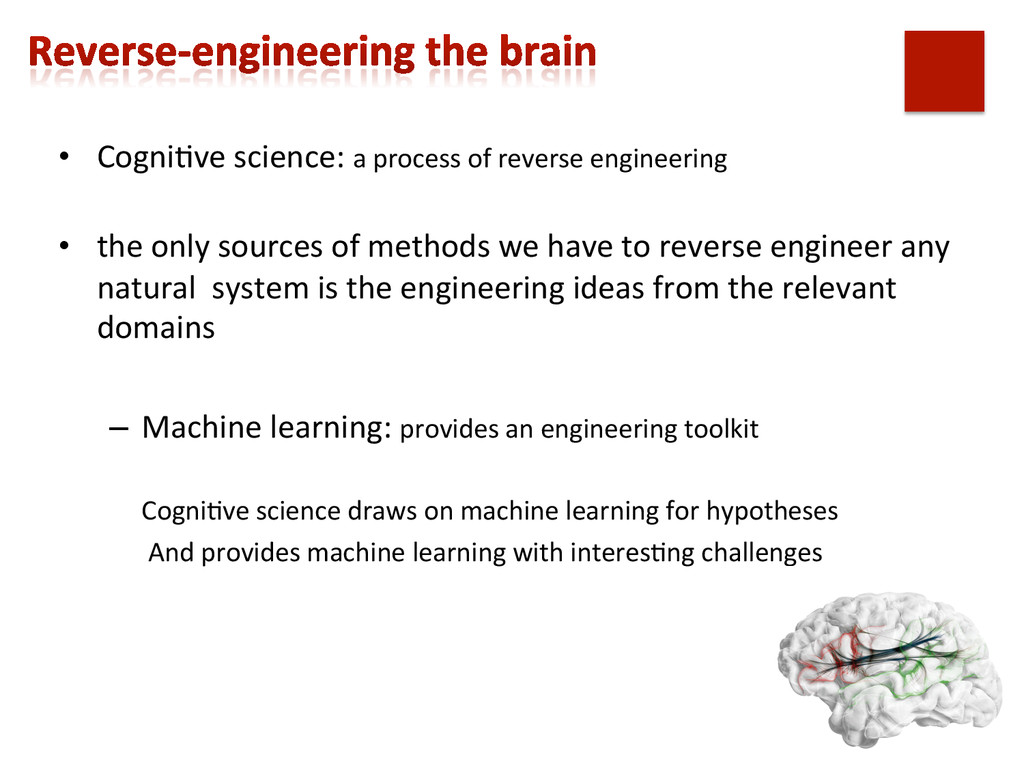 • Cogni,ve science: a process of...
