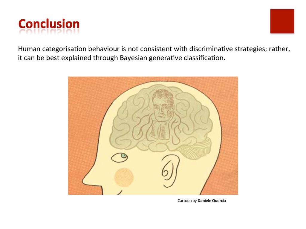 Human categorisa,on behaviour is no...