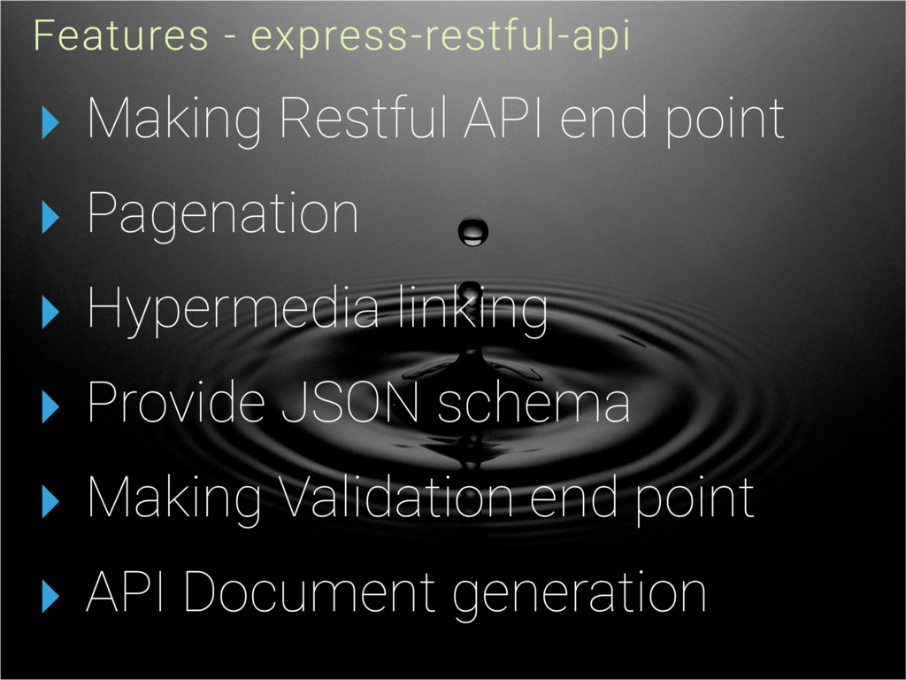 ▸ Making Restful API end point ▸ Pagenation ▸ H...
