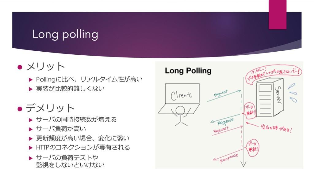 "Long polling l ""$ u Polling8$%!1) u /..."