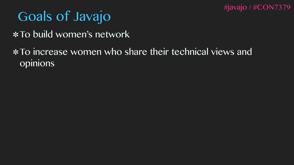 To build women's network To increase women who ...