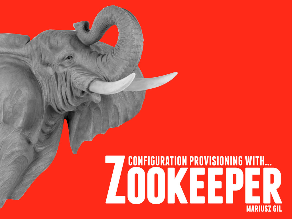 Zookeeper CONFIGURATION PROVISIONING WITH... ma...