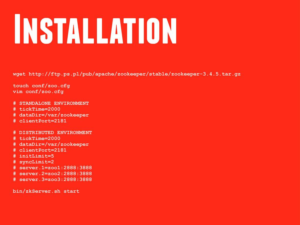 Installation wget http://ftp.ps.pl/pub/apache/z...