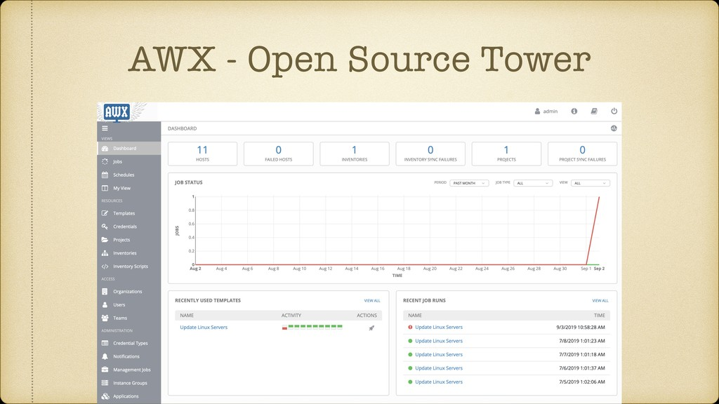 AWX - Open Source Tower