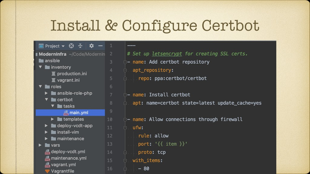 Install & Configure Certbot