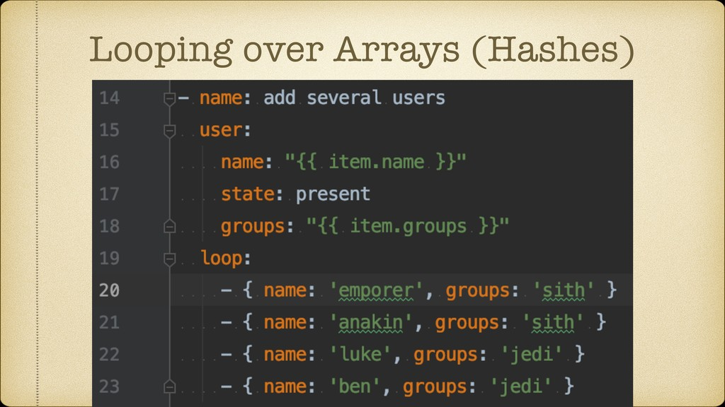Looping over Arrays (Hashes)