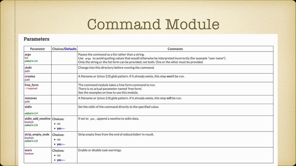 Command Module