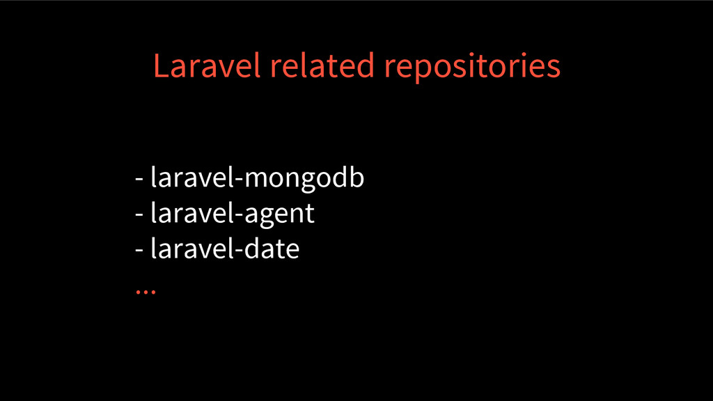 Laravel related repositories - laravel-mongodb ...