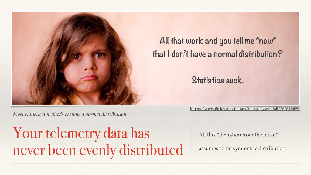 Most statistical methods assume a normal distri...