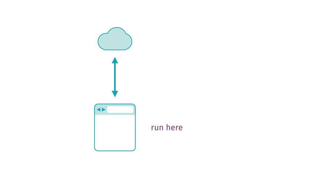 run here