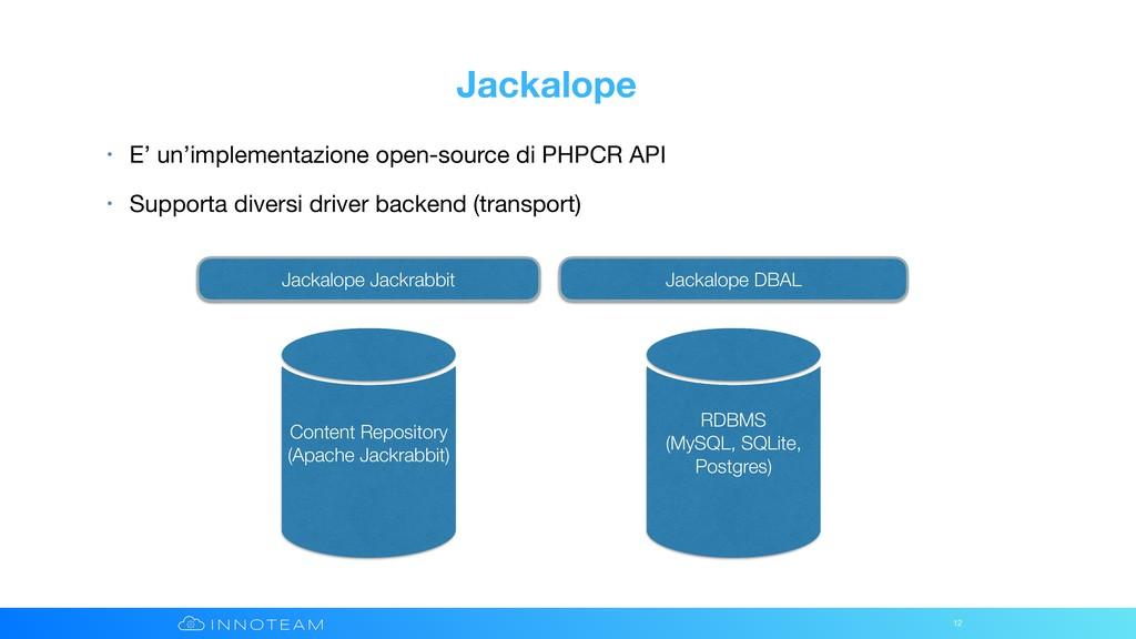 Jackalope • E' un'implementazione open-source d...