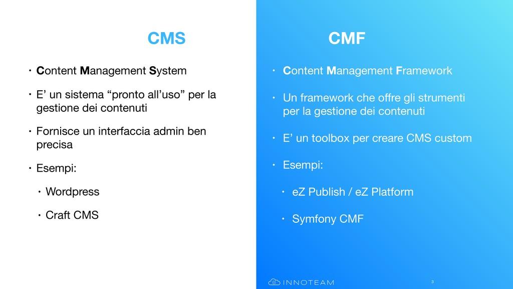 • Content Management Framework  • Un framework ...