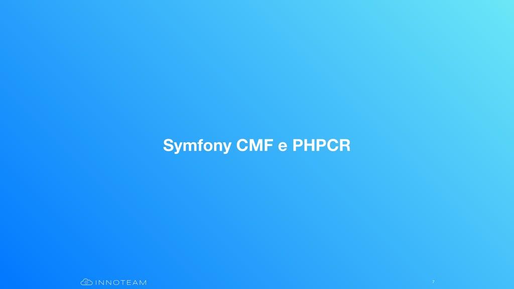 Symfony CMF e PHPCR 7