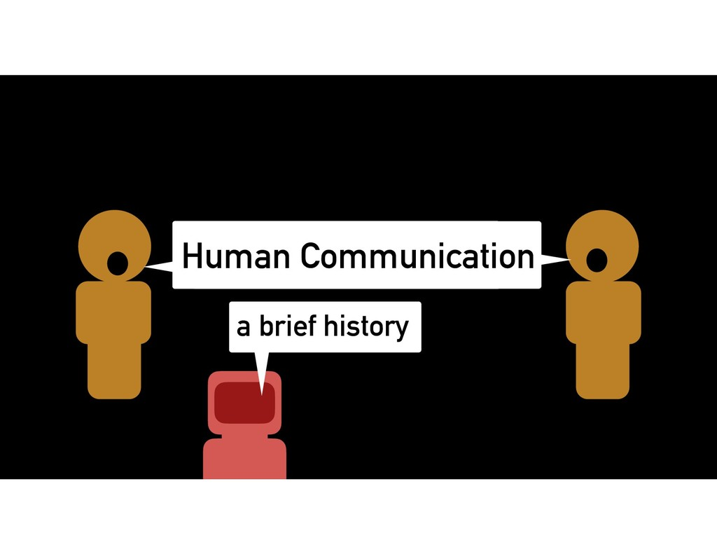 Human Communication a brief history