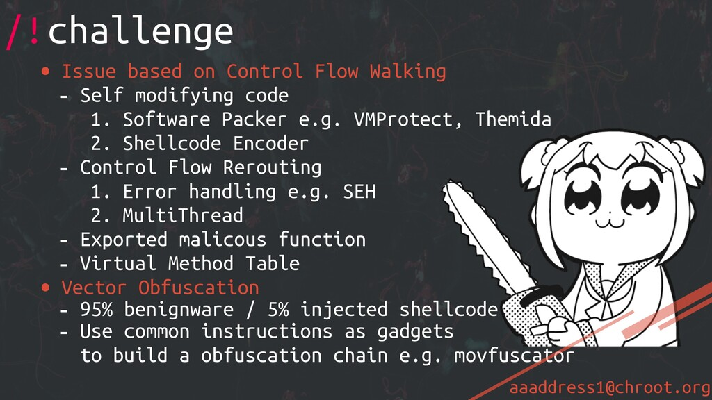 aaaddress1@chroot.org • Issue based on Control ...