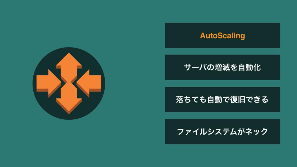 ϑΝΠϧγεςϜ͕ωοΫ AutoScaling αʔόͷ૿ݮΛࣗಈԽ མͪͯࣗಈͰ෮چͰ͖Δ