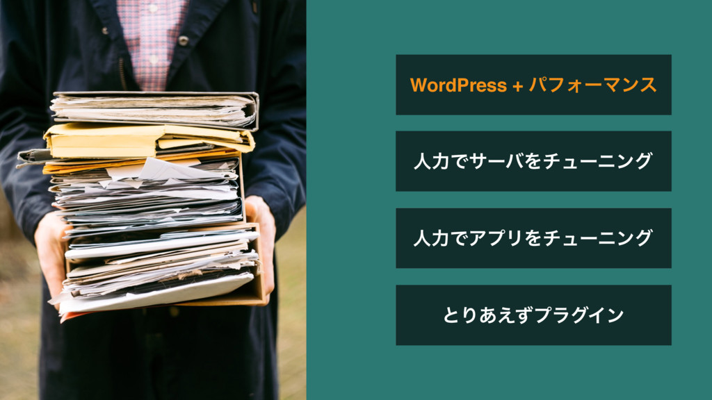 ͱΓ͋͑ͣϓϥάΠϯ WordPress + ύϑΥʔϚϯε ਓྗͰαʔόΛνϡʔχϯά ਓྗ...
