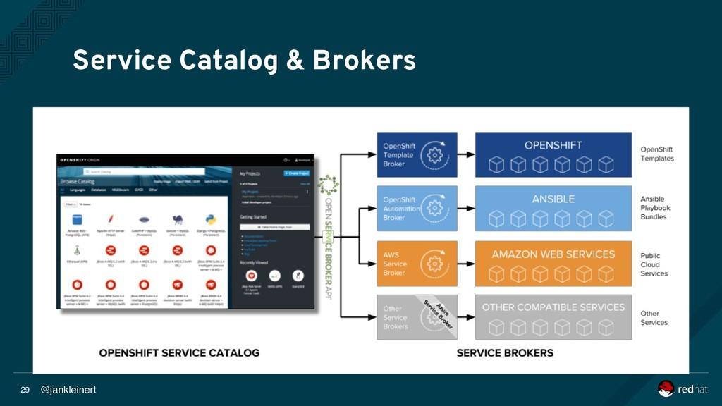 @jankleinert 29 Service Catalog & Brokers