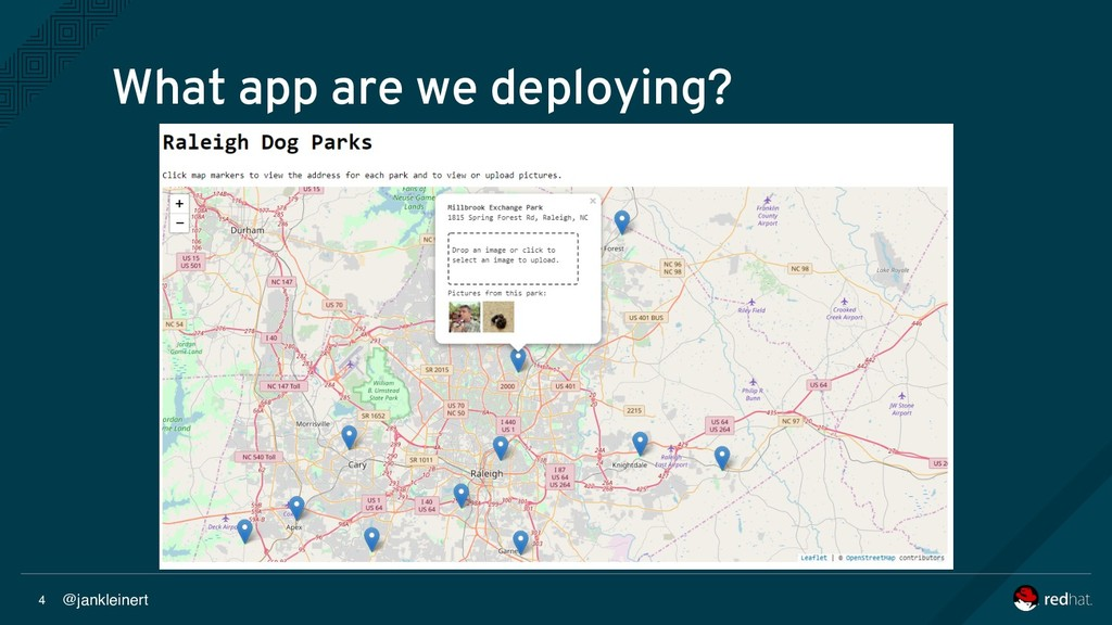 @jankleinert 4 What app are we deploying?