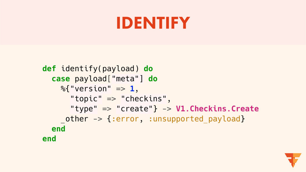 IDENTIFY def identify(payload) do case payload[...