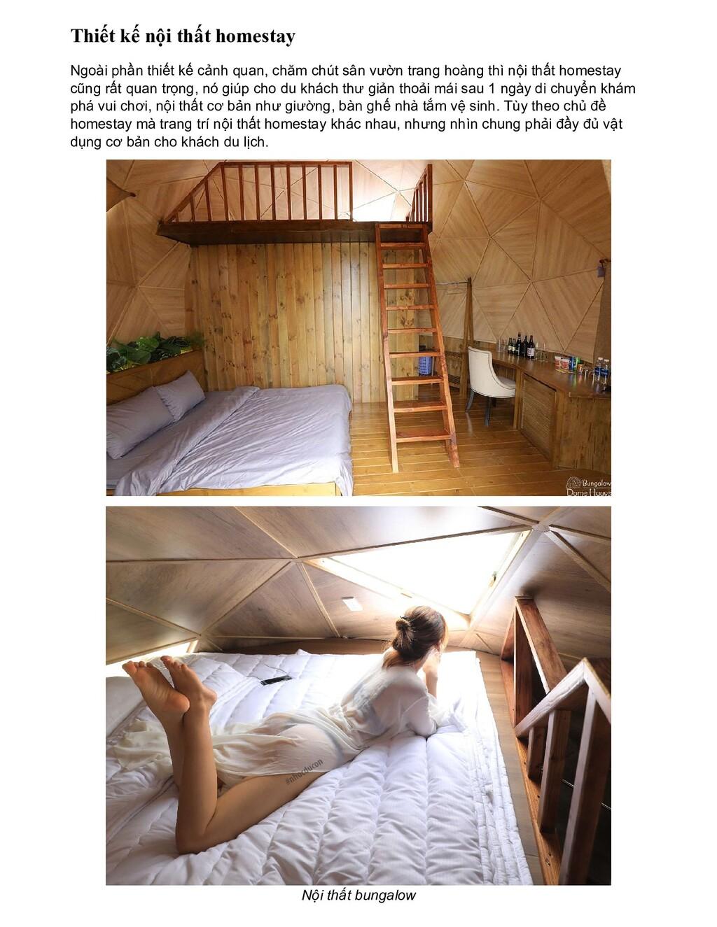 Thiết kế nội thất homestay Ngoài phần thiết kế ...