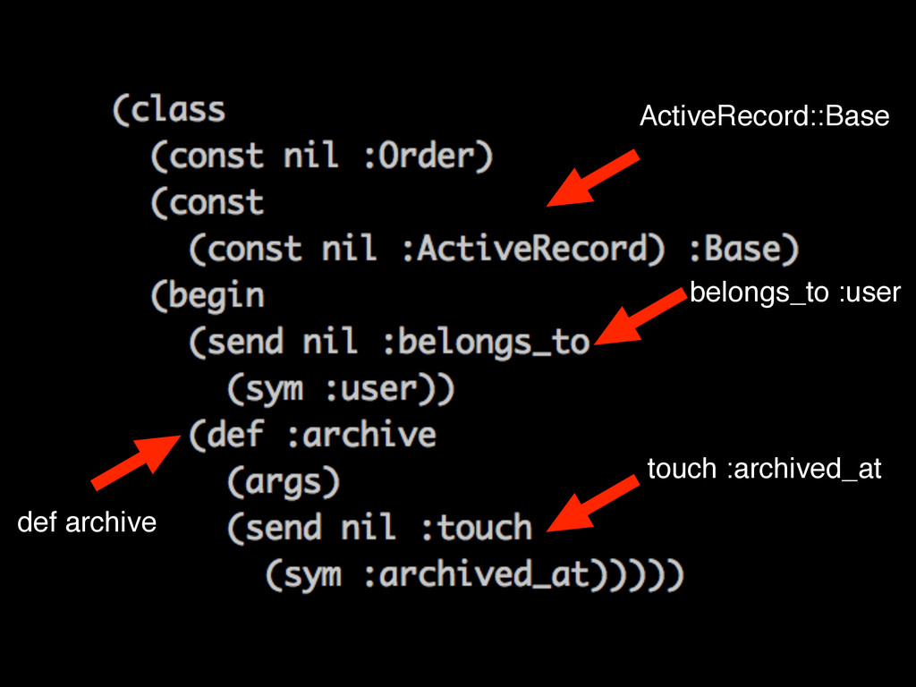 ActiveRecord::Base belongs_to :user def archive...