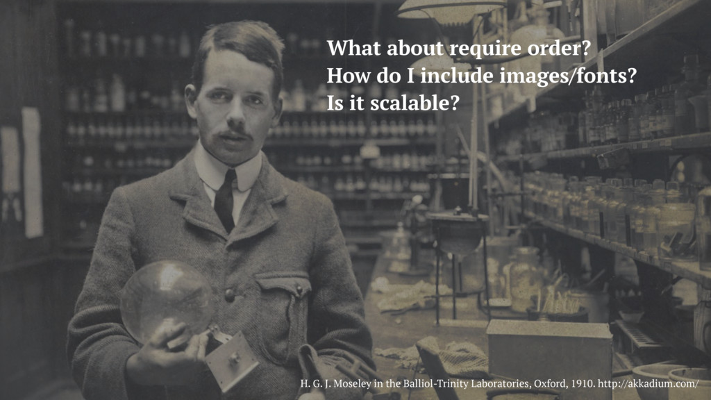 H. G. J. Moseley in the Balliol-Trinity Laborat...