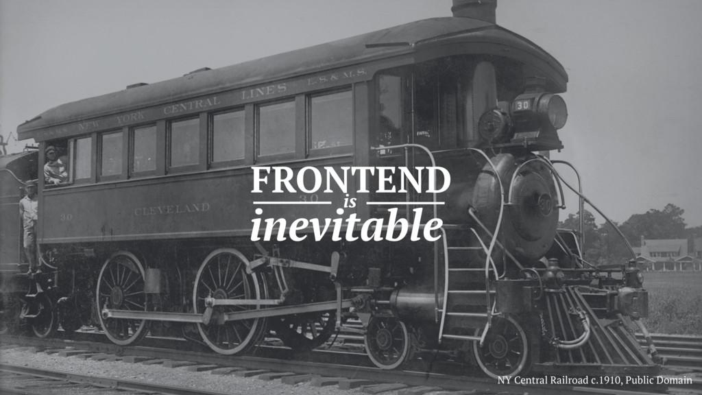 NY Central Railroad c.1910, Public Domain FRONT...