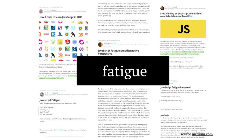 fatigue source medium.com