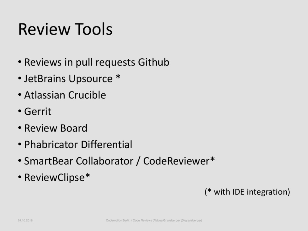 Review Tools • Reviews in pull requests Github ...