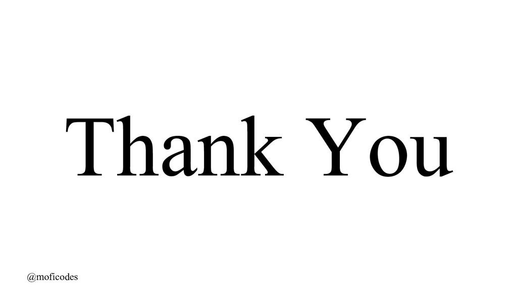 @moficodes Thank You