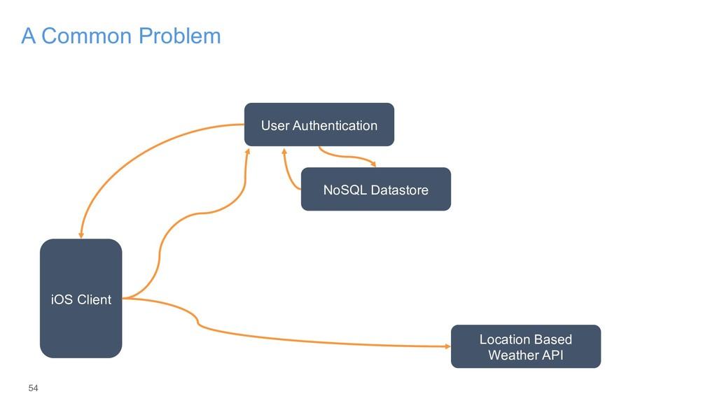 54 A Common Problem iOS Client User Authenticat...