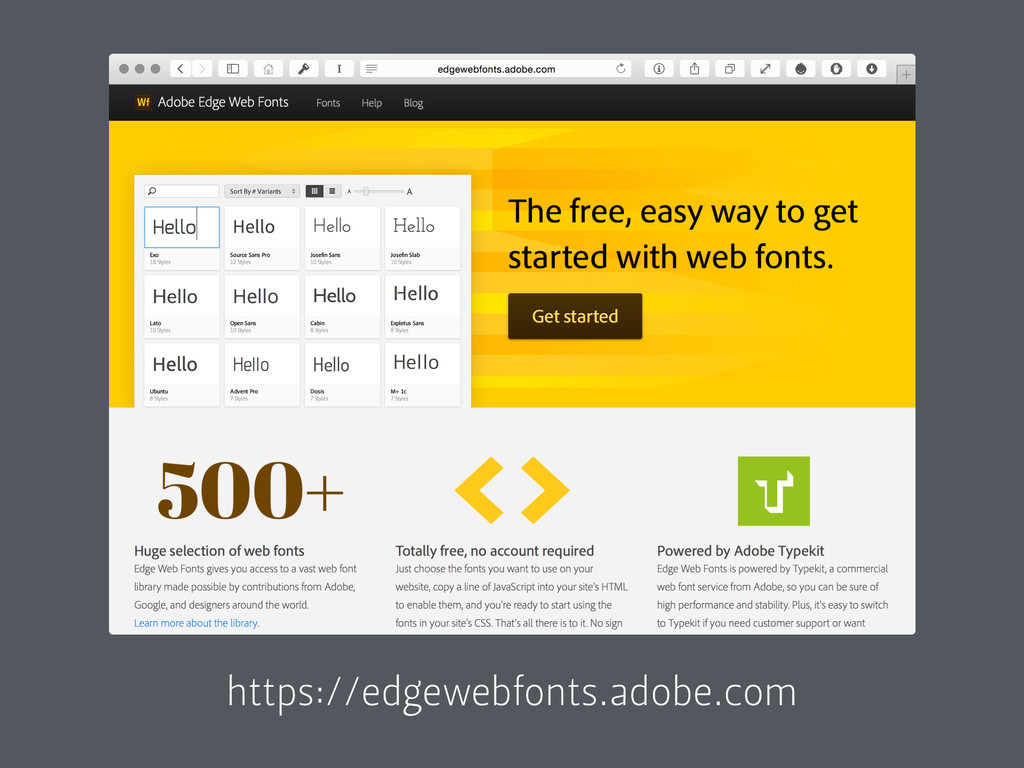 https://edgewebfonts.adobe.com