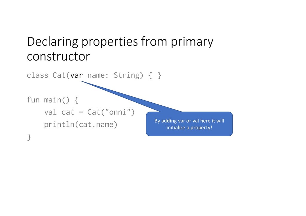 Declaring properties from primary constructor c...