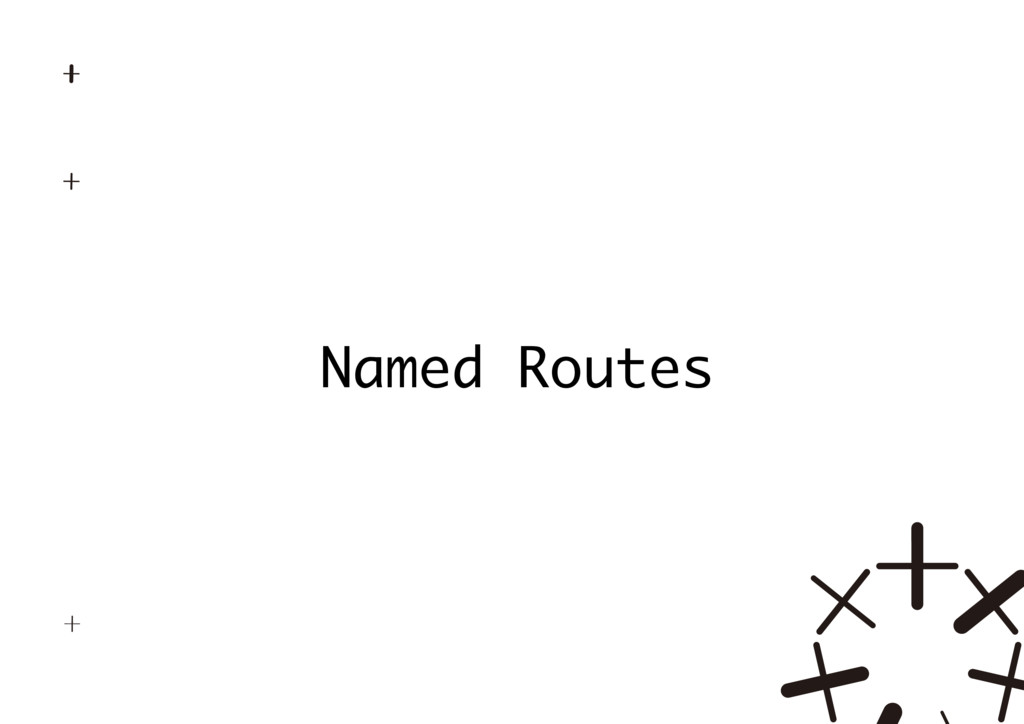 Named Routes