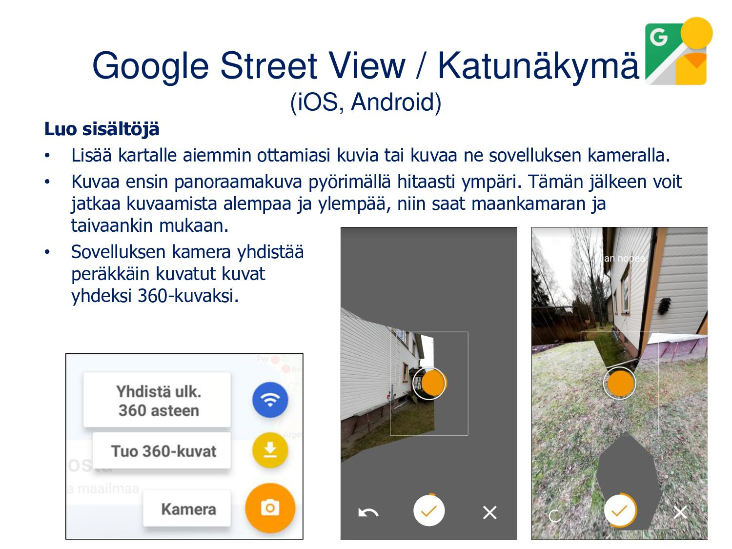 Panorama 360 Camera (Android, iOS) • Kuvat voi ...