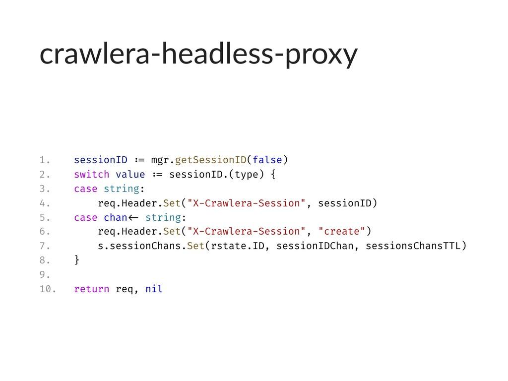 crawlera-headless-proxy 1. sessionID := mgr.get...
