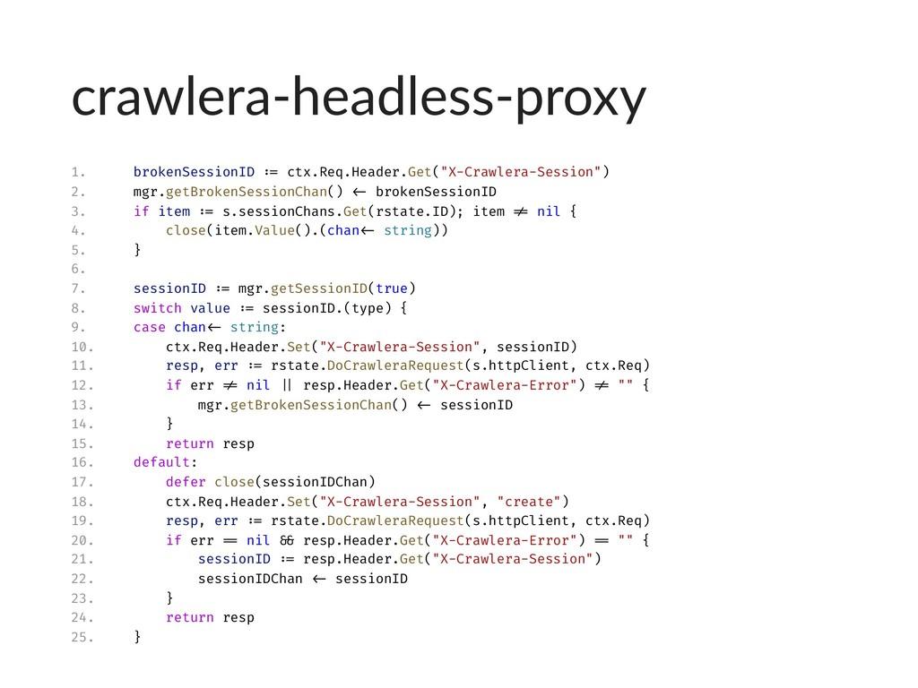 crawlera-headless-proxy 1. brokenSessionID := c...