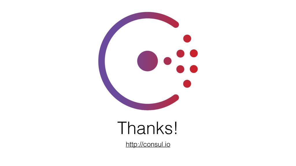 Thanks! http://consul.io