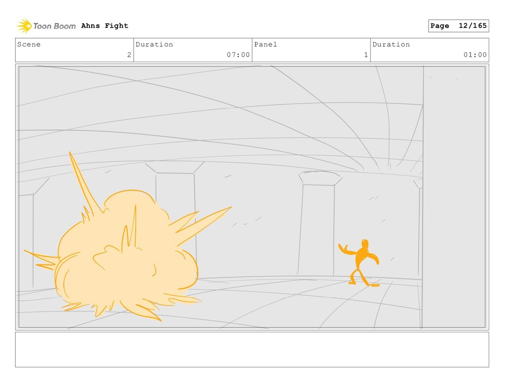 Scene 2 Duration 07:00 Panel 1 Duration 01:00 A...