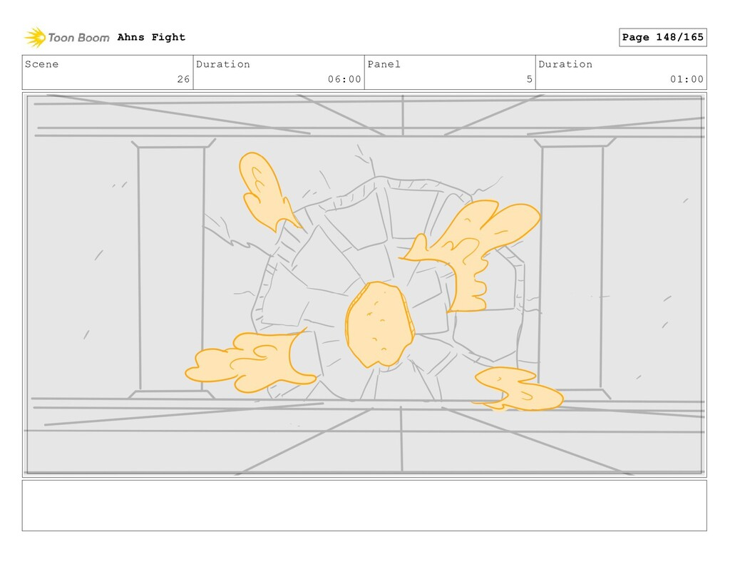 Scene 26 Duration 06:00 Panel 5 Duration 01:00 ...