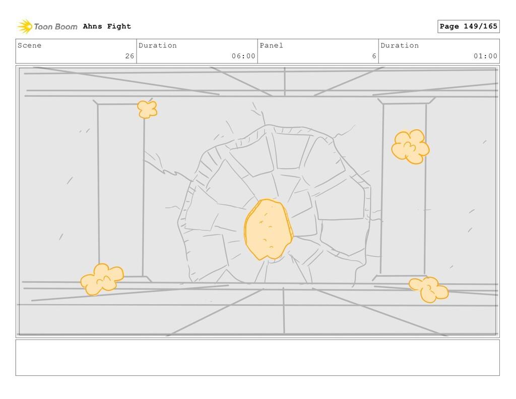 Scene 26 Duration 06:00 Panel 6 Duration 01:00 ...