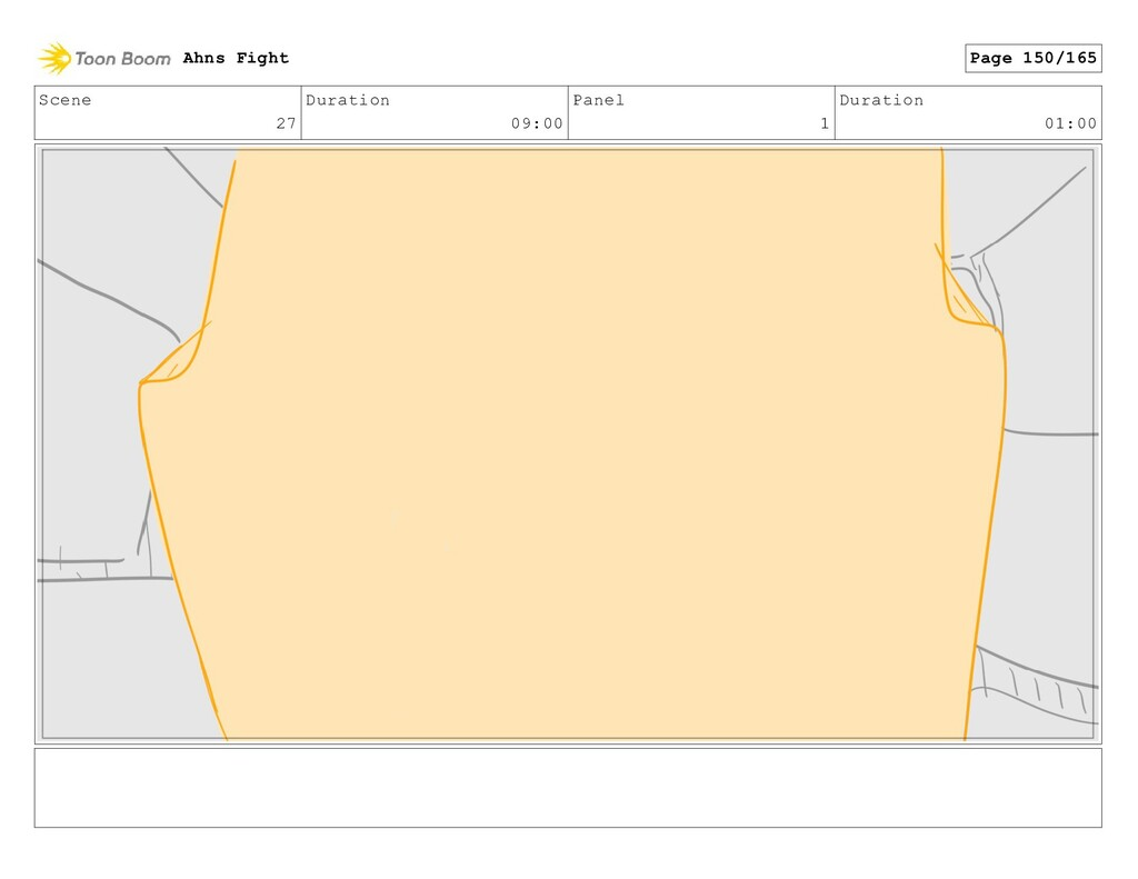 Scene 27 Duration 09:00 Panel 1 Duration 01:00 ...