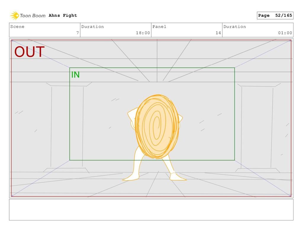 Scene 7 Duration 18:00 Panel 14 Duration 01:00 ...