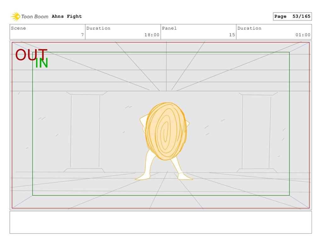 Scene 7 Duration 18:00 Panel 15 Duration 01:00 ...
