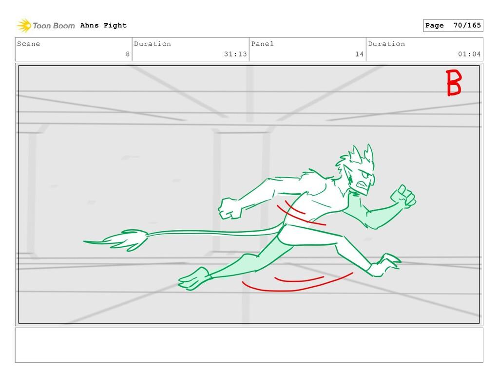 Scene 8 Duration 31:13 Panel 14 Duration 01:04 ...